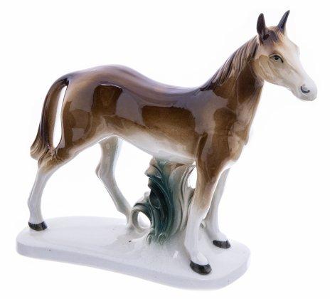 """купить Статуэтка """"Лошадь"""", фарфор, роспись, мануфактура """"Wagner&Apel"""", Германия, 1951-1974 гг."""