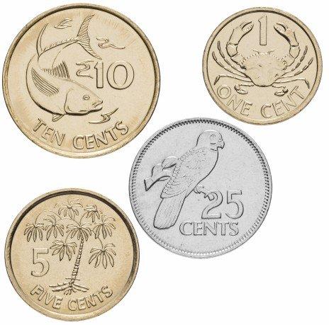 купить Сейшельские острова набор 2010-2014 (4 штуки)