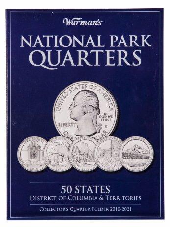 """купить Альбом для монет серии """"Парки США"""" 2010-2021"""