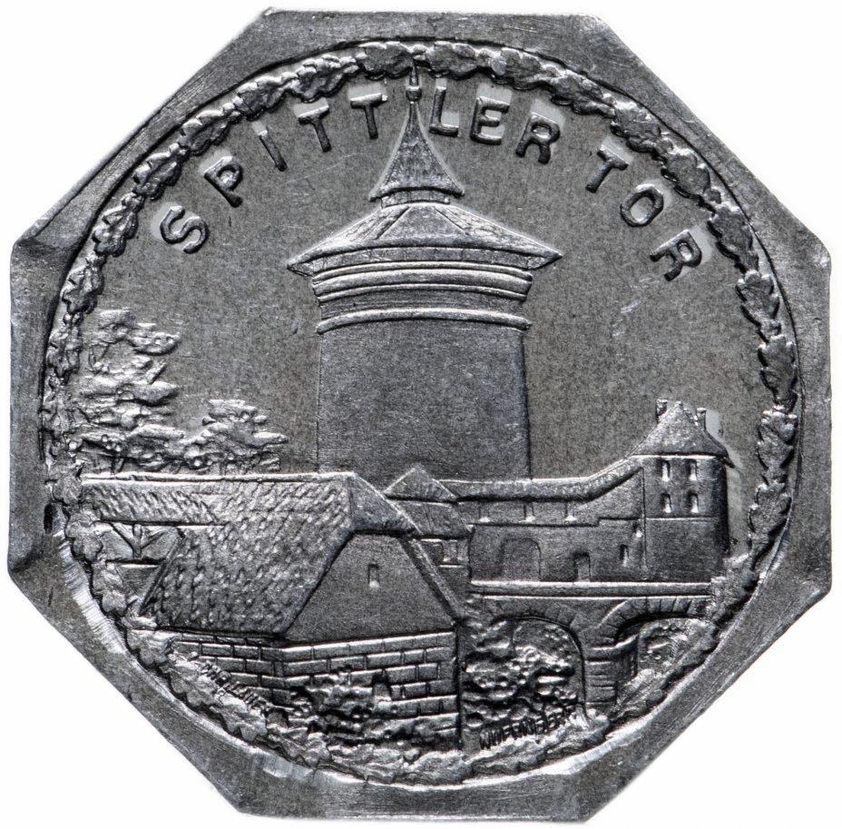 """купить Германия (Нюрнберг) нотгельд  20 пфеннигов 1921 """"Спиттлертор"""" трамвайный жетон"""