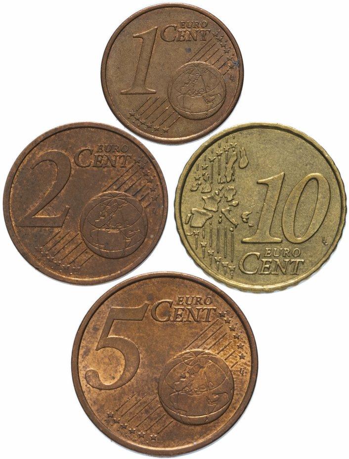 купить Франция полный годовой набор евро для обращения 2003 (4 штуки, VF-XF)