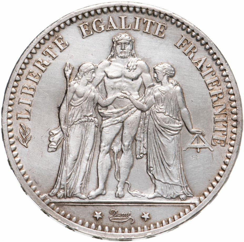 купить Франция 5 франков 1873