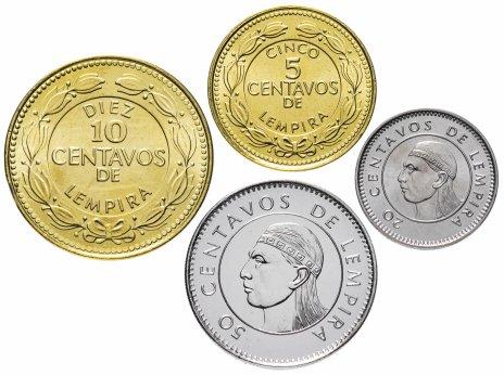 купить Гондурас набор монет 1999-2006 (4 монеты)