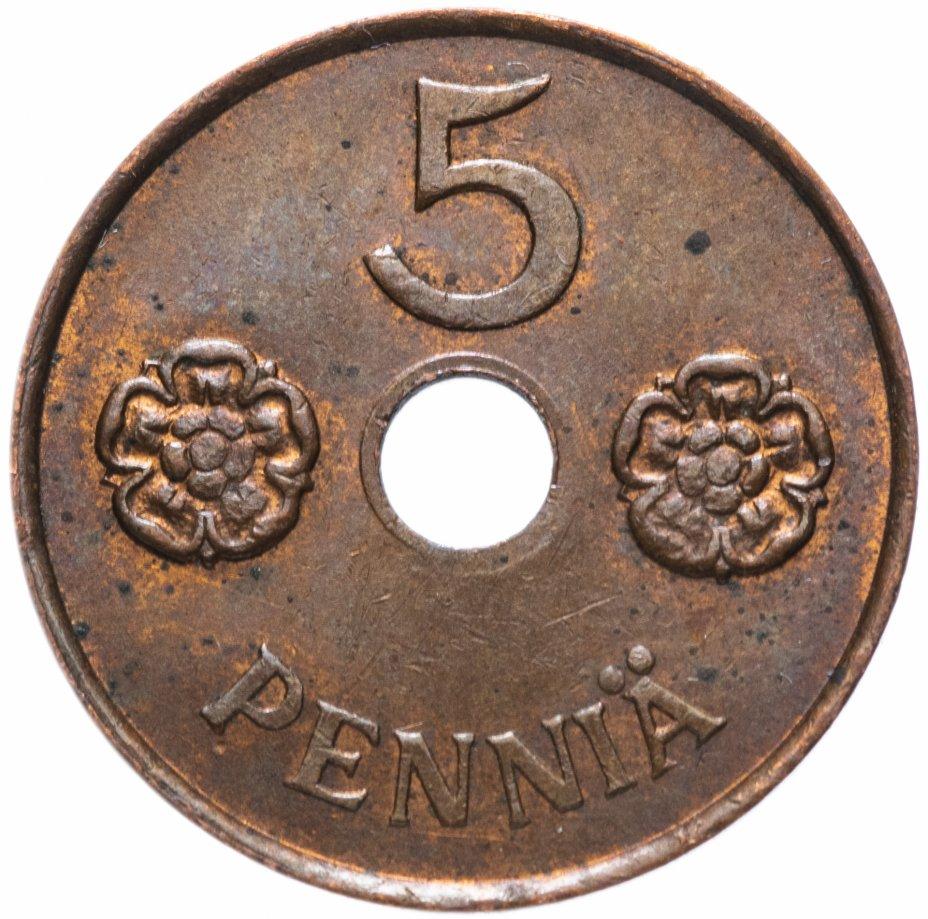 купить Финляндия 5 пенни 1941