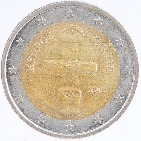 купить Кипр 2 евро 2008