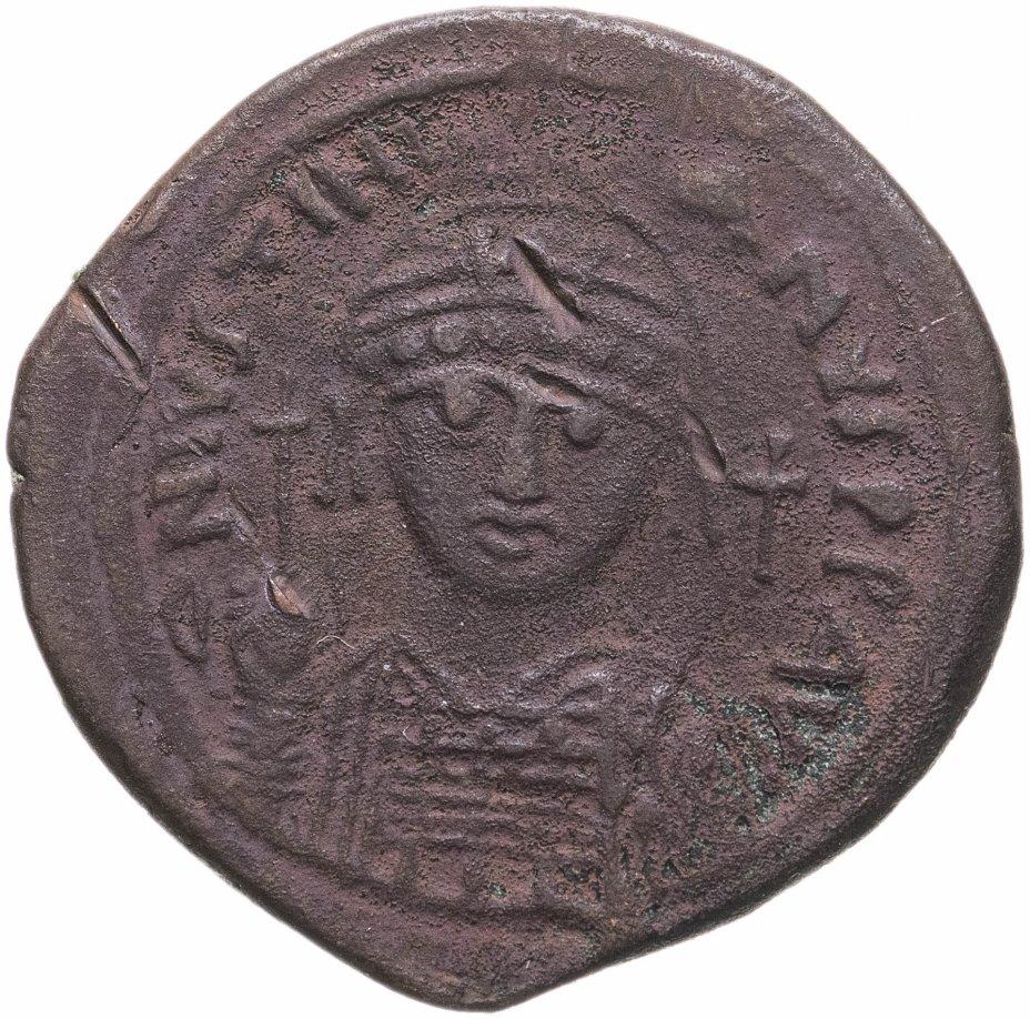 купить Византийская империя, Юстиниан I, 527-565 годы, 40 нуммиев (фоллис).Диаметр:33.5 mm