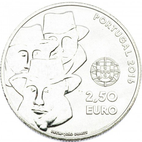 купить Португалия 2,5 евро 2016 Музыка региона Алентежу
