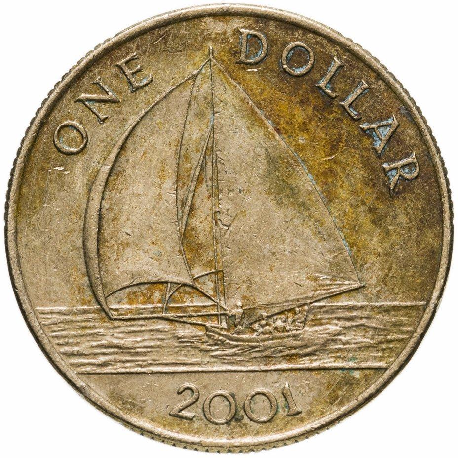 купить Бермуды 1 доллар (dollar) 2001