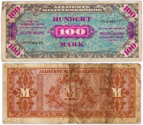 купить Германия 100 марок 1944 (Pick 197) Советская зона оккупации