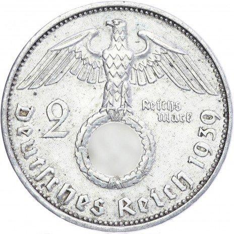купить Нацистская Германия 2 марки 1939
