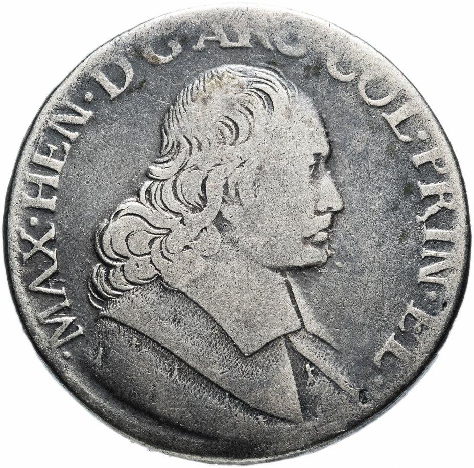 купить Бельгия Талер Патагон 1678г. Епископство Льеж, Максимилиан Генрих Баварский