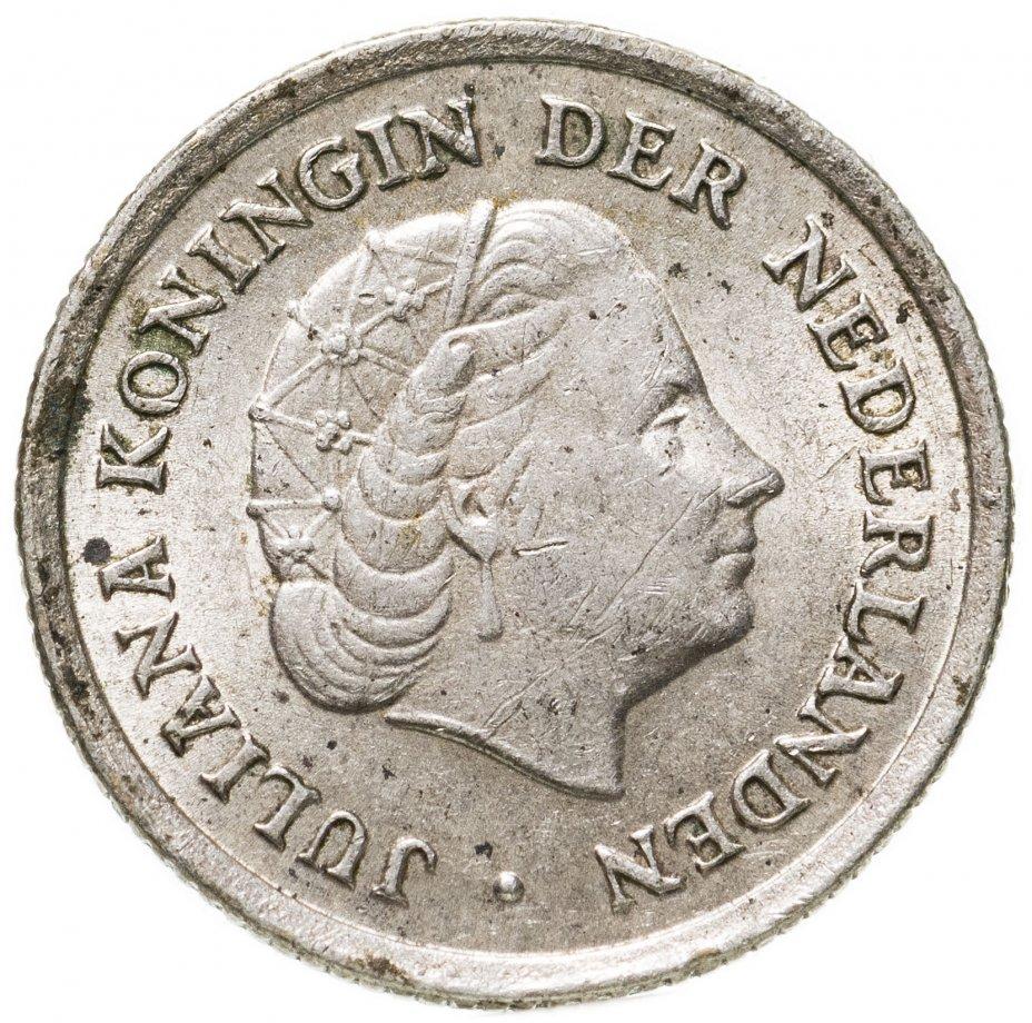 купить Нидерландские Антильские острова 1/10 гульдена (gulden) 1966