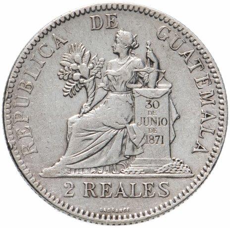 купить Гватемала 2 реала 1894