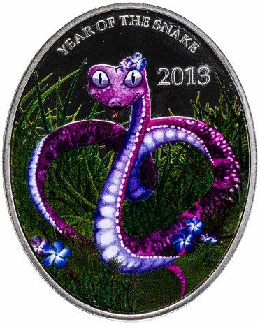 """купить Ниуэ 1 доллар 2013 """"Китайский гороскоп - Год змеи"""""""