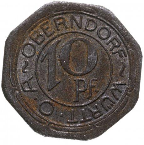 купить Германия, Оберндорф 10 пфеннигов 1918