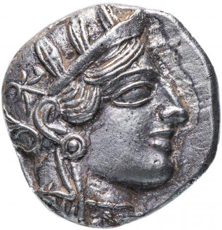 купить Аттика, Афины, 454-404 годы до Р.Х., тетрадрахма. Доллар Античного Времени. Серебро
