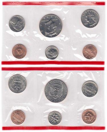 купить США  годовой набор 1996 D (5 монет + жетон)