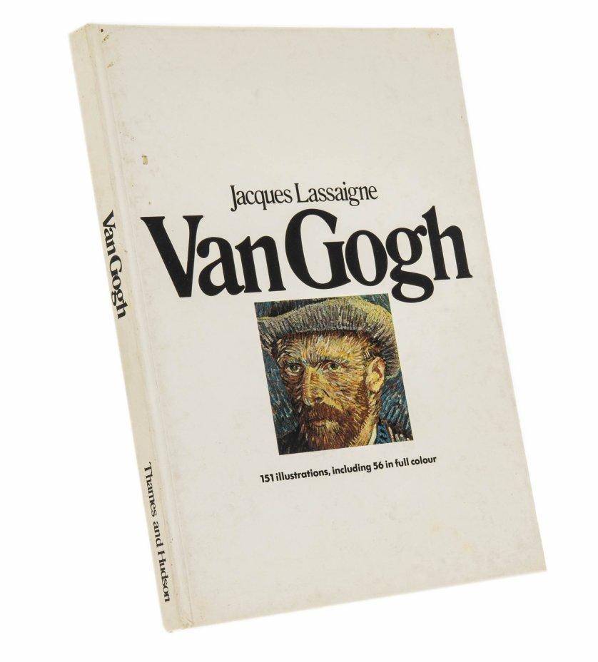 """купить Жак Лассань (Jacques Lassaigne) """"Ван Гог"""" (на английском языке), бумага, печать, издательство """"Thames and Hadson"""", Англия, 1975 г."""
