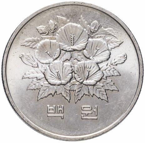 """купить Южная Корея 100 вон 1981 """"Первая годовщина Пятой республики"""""""