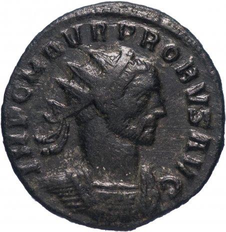 купить Римская Империя Проб 276–282 гг антониниан (реверс: Салюс стоит влево, кормит змею)