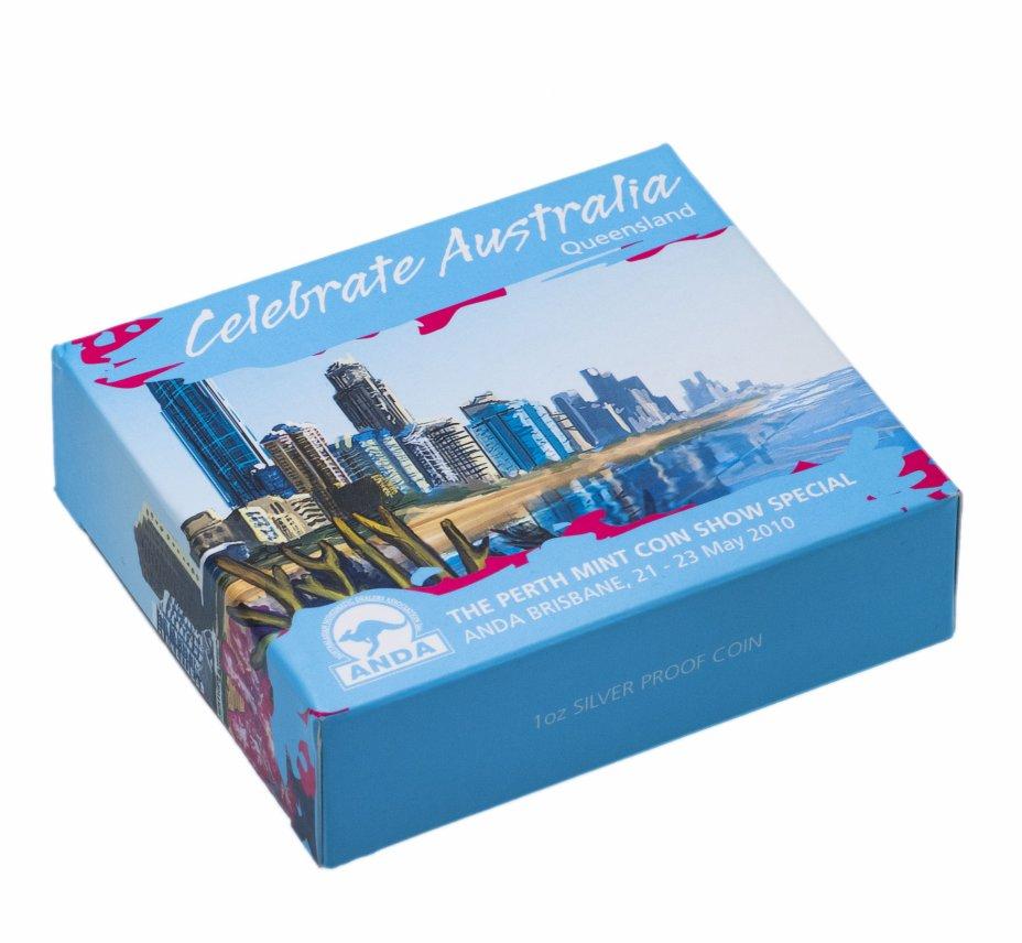 купить Австралия 1 доллар 2010 «Животный мир Австралий-Черепаха»