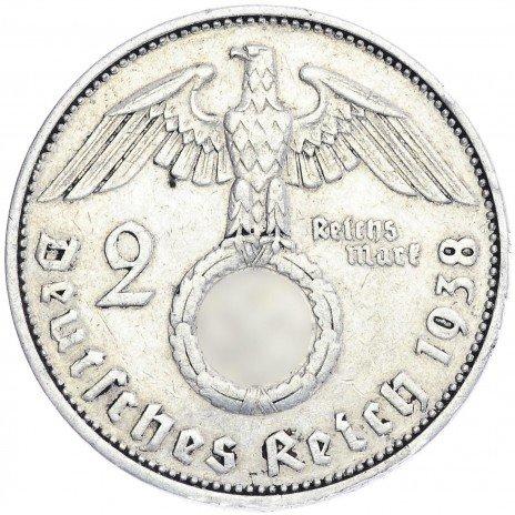купить Нацистская Германия 2 марки 1938