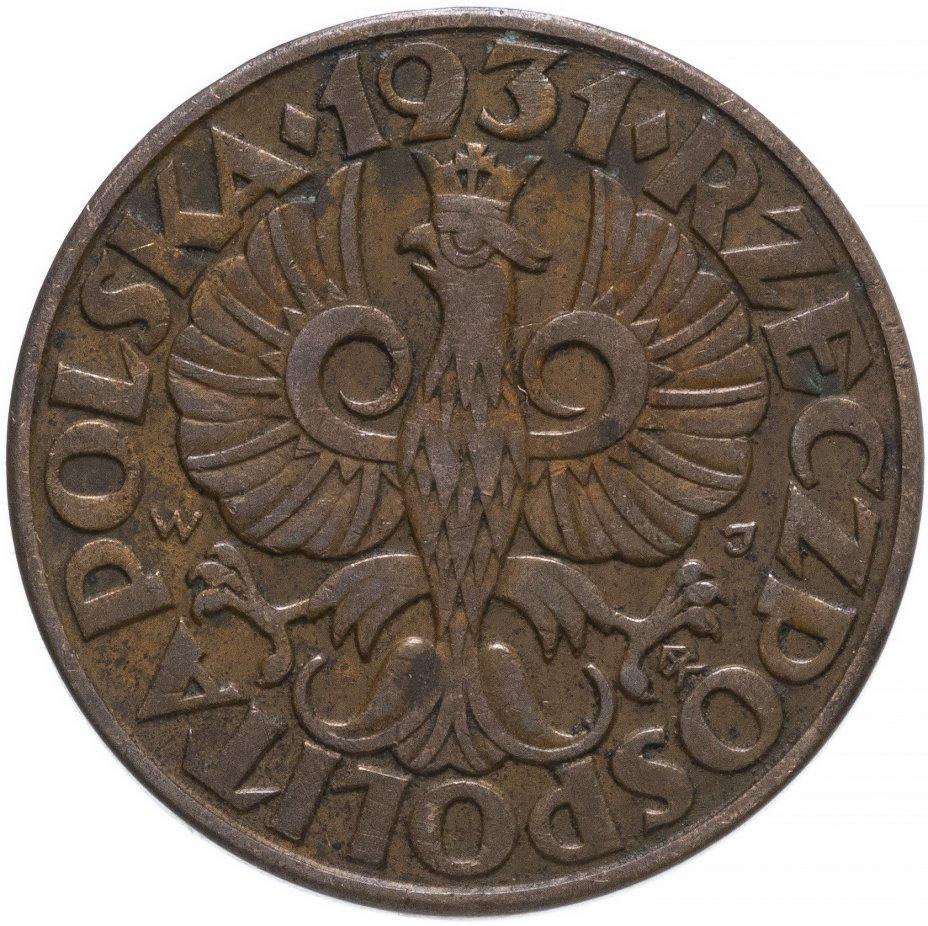 купить Польша 5 грошей (groszy) 1931