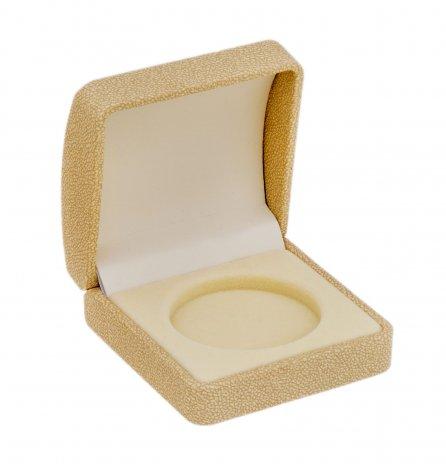 купить Футляр для монеты в капсуле (диаметр 46 мм), слоновая кость