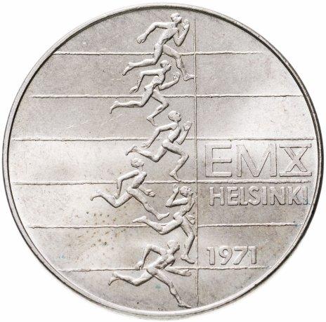 купить Финляндия 10 марок (markkaa) 1971  X Чемпионат Европы по легкой атлетике