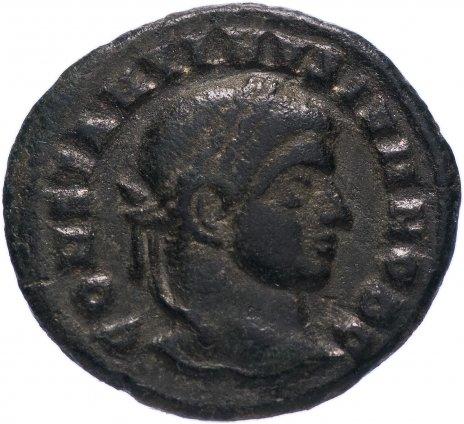 купить Римская Империя Константин II 317–340 гг фоллис (реверс: надпись внутри венка)