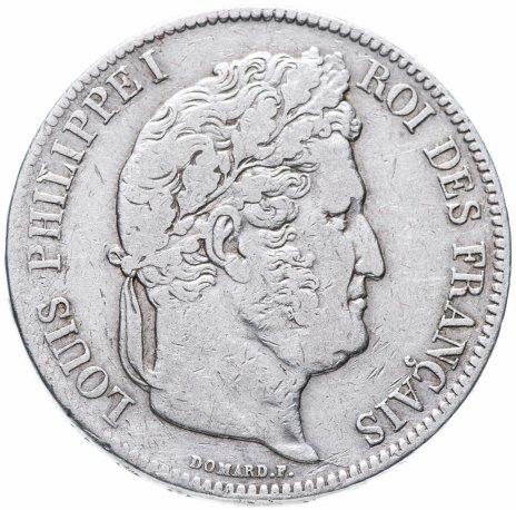 купить Франция 5 франков 1838 A