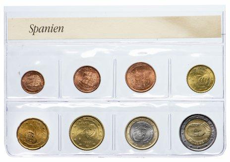 купить Испания набор из 8 монет 1999-2002