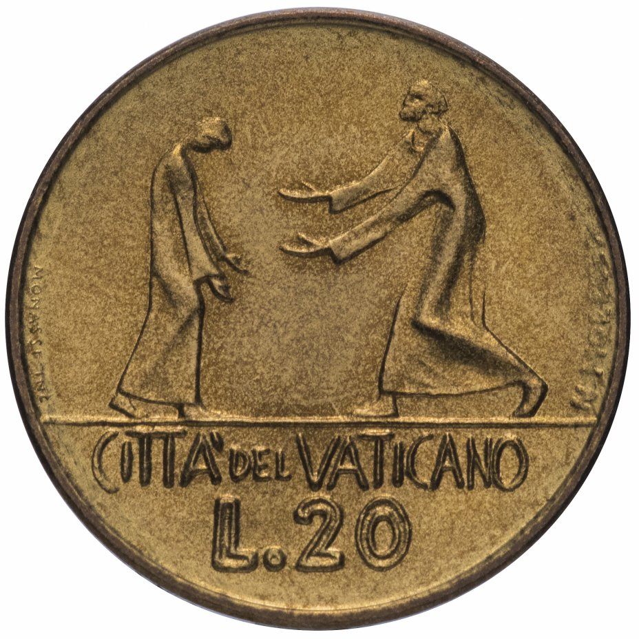 купить Ватикан 20 лир 1978