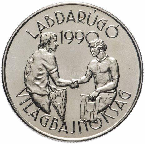 купить Венгрия 100 форинтов 1989 год Чемпионат Мира по Футболу Италия 1990
