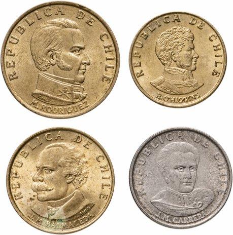 купить Чили, набор из 4 монет 1971