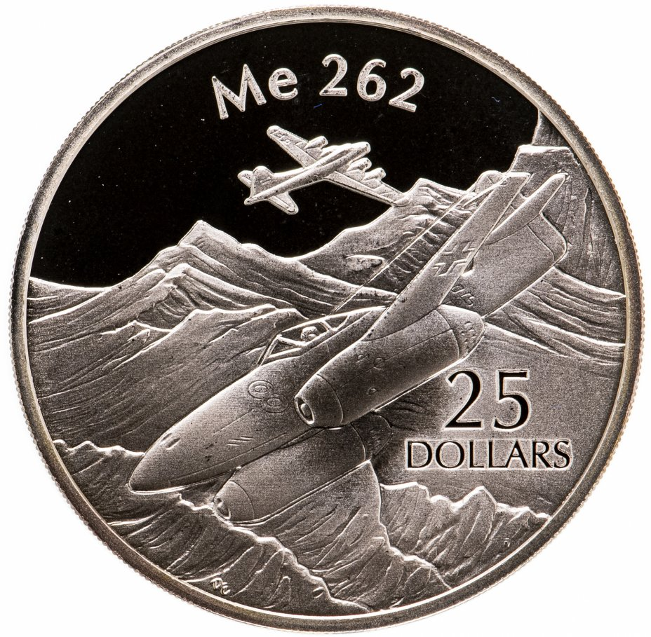 купить Соломоновы Острова 25 долларов (dollars) 2003  Самолёты - Messerschmitt Me 262