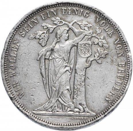 """купить Австро-Венгрия 1 талер 1868 """"Третий германский стрелковый фестиваль"""", монета для Австрии"""