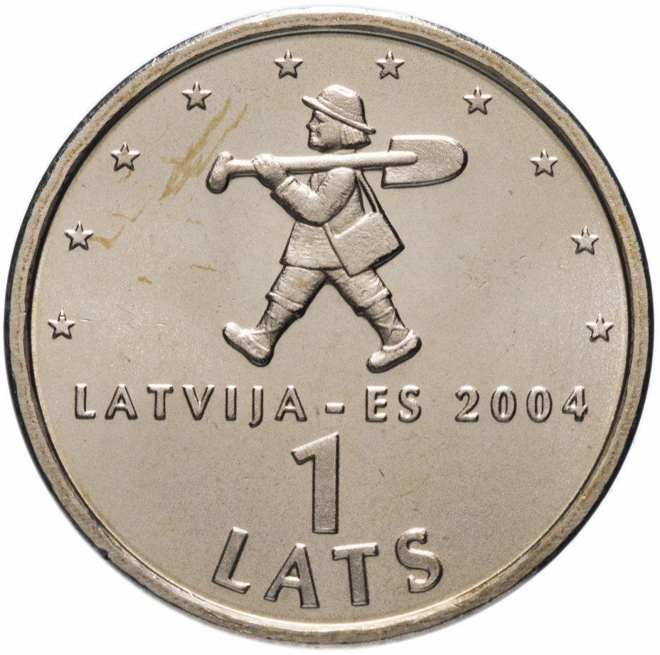 """купить Латвия 1 лат (lats) 2004   """"Мальчик с пальчик"""""""