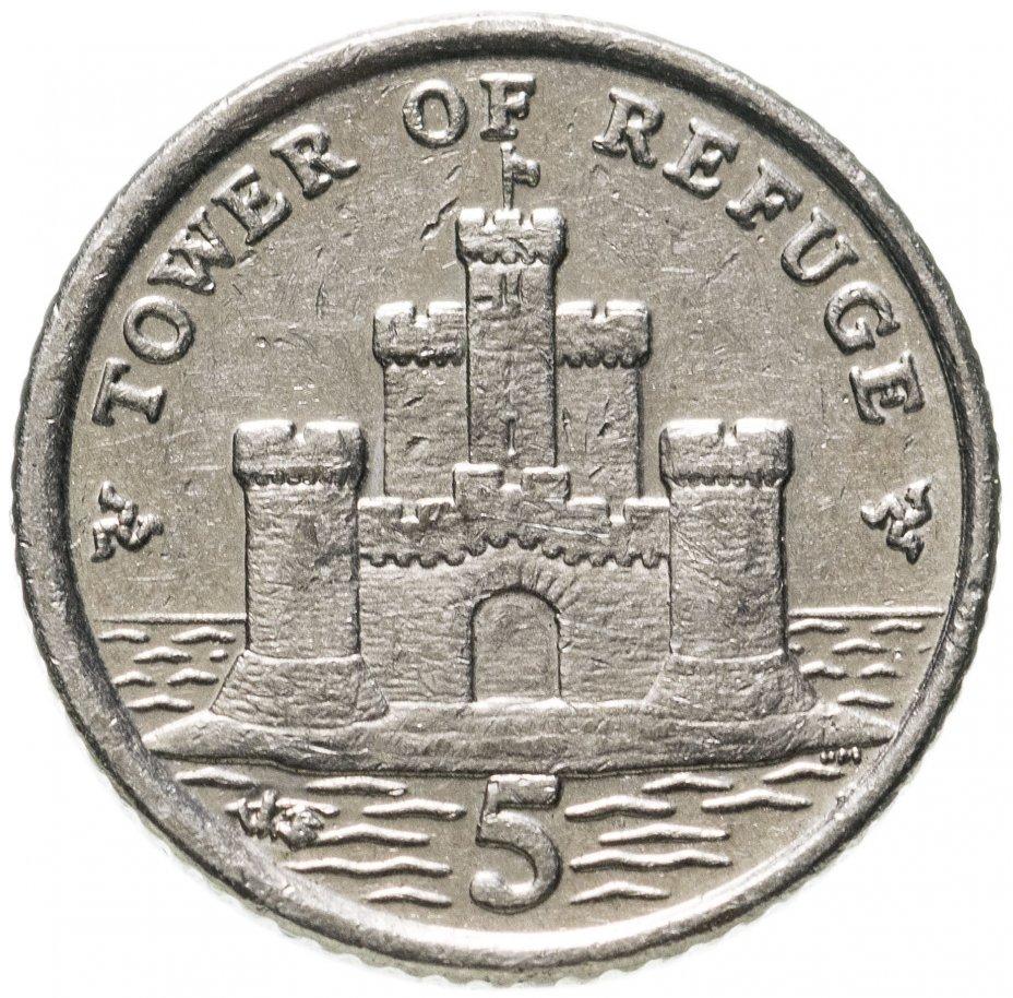 купить Остров Мэн 5 пенсов (pence) 2007 AB