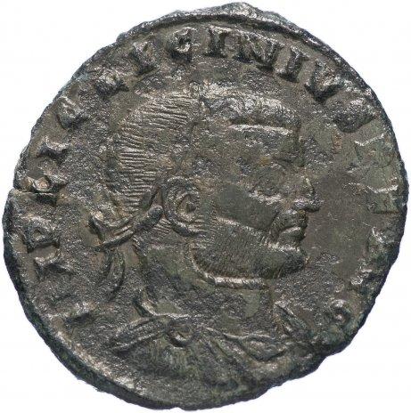 купить Римская Империя Лициний I 308–324 гг фоллис (реверс: Юпитер стоит влево, держит Викторию на шаре)
