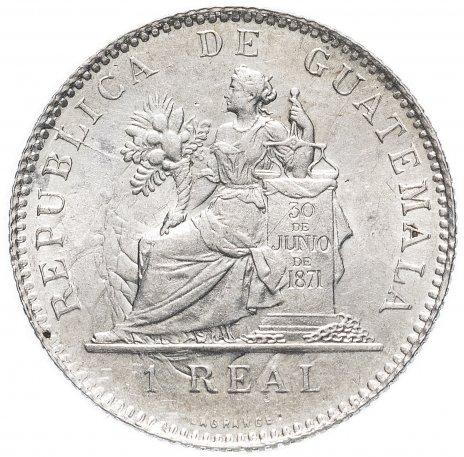 купить Гватемала 1 реал 1899