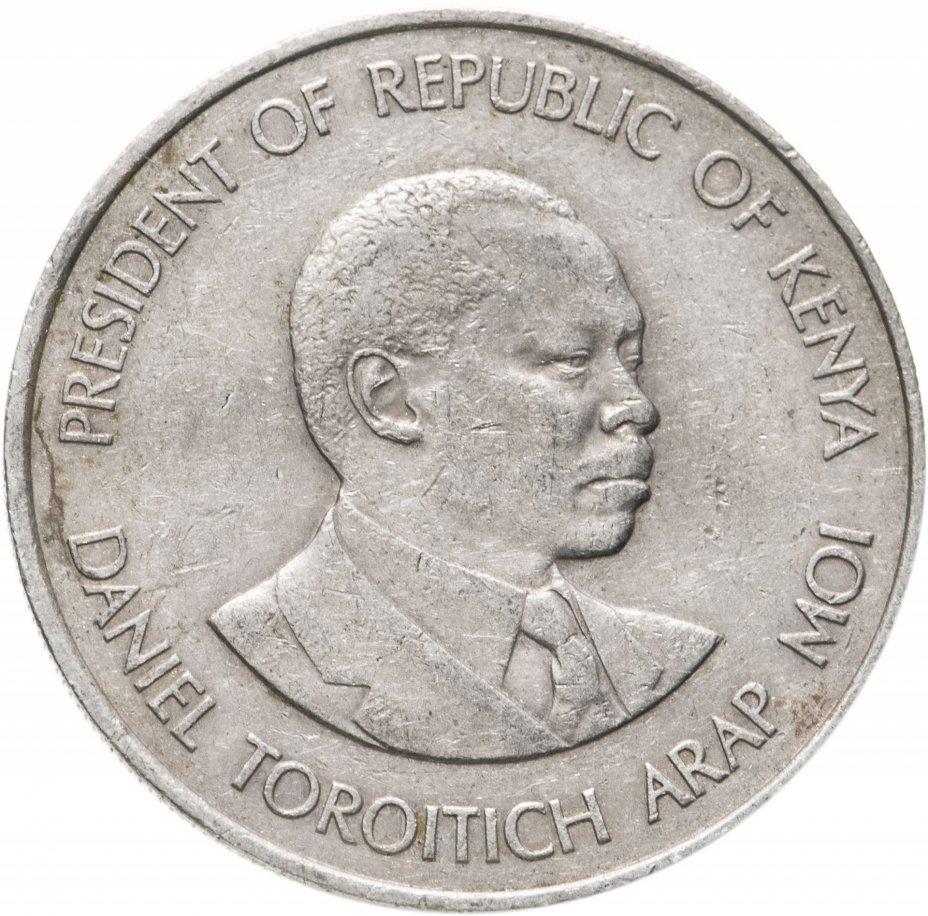 купить Кения 1 шиллинг (shilling) 1980-1989 (случайный год)