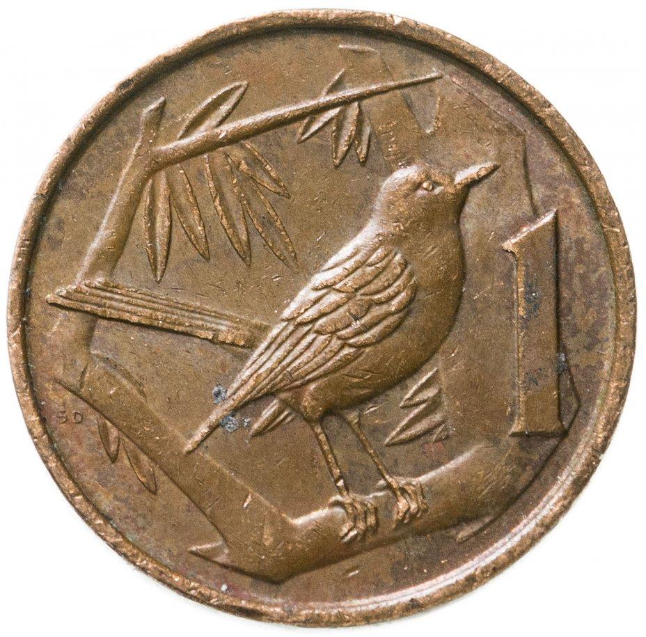 купить Каймановы острова 1 цент (cent) 1982