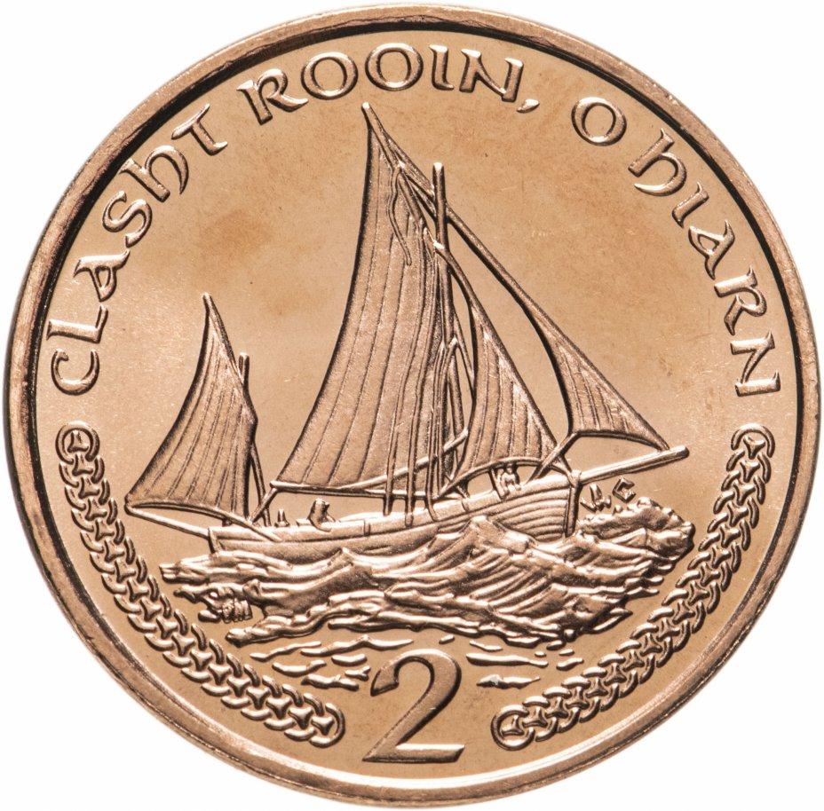 купить Остров Мэн 2 пенса (pence) 2002 AC