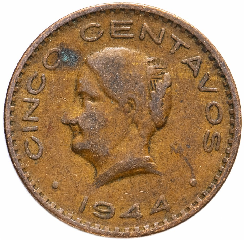 купить Мексика 5 сентаво (centavos) 1943-1955, случайная дата