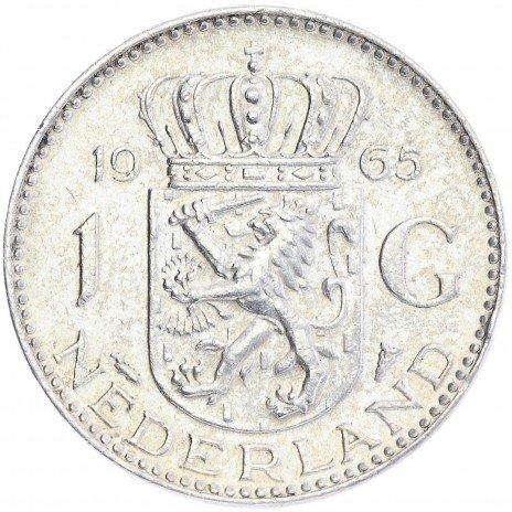 купить Нидерланды 1 гульден 1965