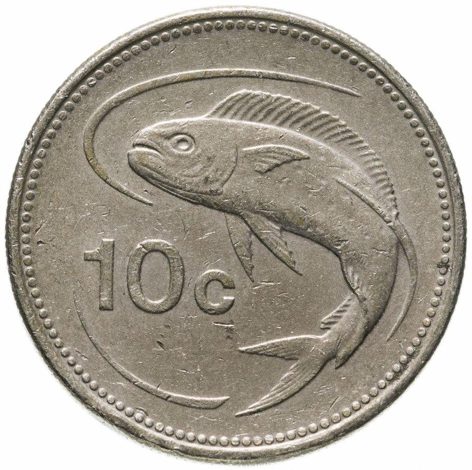 купить Мальта 10 центов (cents) 1991-2005, случайная дата