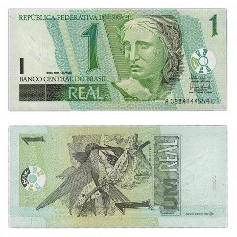 купить Бразилия 1 реал 2003 (Pick 251)