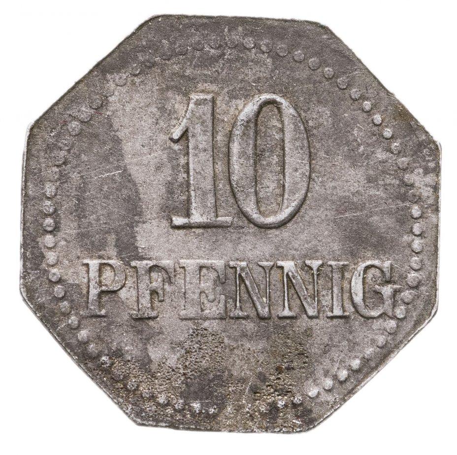 купить Германия, Варбург 10 пфеннигов 1917