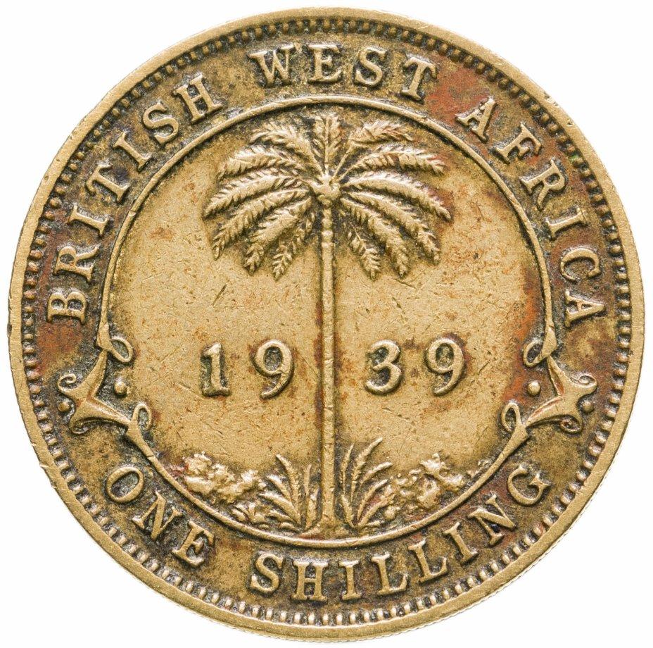 купить Британская Западная Африка 1 шиллинг 1939